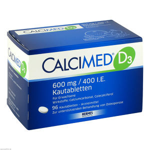Calcimed D3 600mg/400 I.E.
